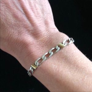 Tiffany & Co. Jewelry - Tiffany & Co. sterling silver and gold bracelet